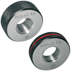 Thread ring gauge GO or NO-GO 6g M 12 x 1