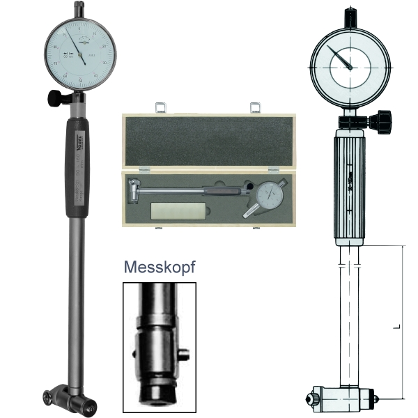 Bore Gauge - Set, with dial indicator 6 - 10 mm V237001