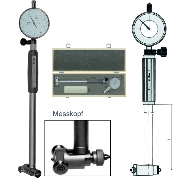 Bore Gauge - Set, with dial indicator 35 - 50 mm V237004