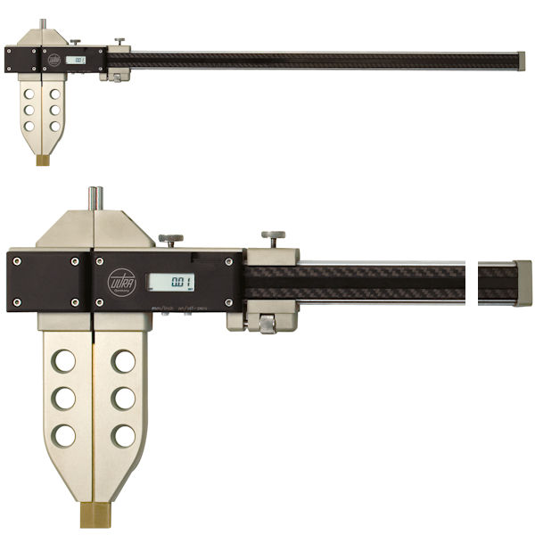 Digital caliper with cylindrical measuring pins 600 mm U1851655ip