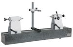 Concentricity tester with granite bench 200mm x 650mm