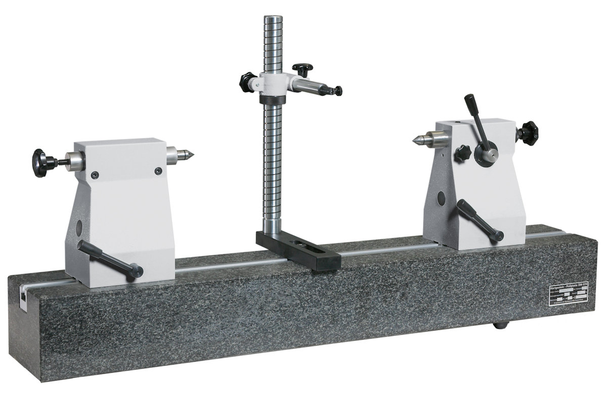 Concentricity tester with granite bench 200mm x 1150mm U1554103