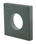 Master squares 90° square-design, granite, Grade 00 500mm x 500mm x 70mm