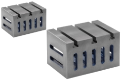 Clamping Cubes, 4 Sides with clamping-slots, 1 side with t-slots