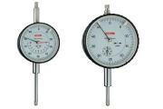 Dial gauges with inch-graduation 0,0005 from Käfer and a measuring range of 1,0 inch.