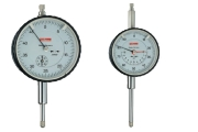 Dial gauges with inch-graduation 0,001 from Käfer and a measuring range of 1,0 inch.