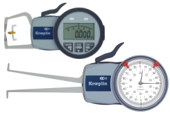 Mechanical and digital quick test gauges from Kroeplin