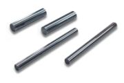 Single pin gauges made of  hardened stainless steel steps: 0,001 mm, Diameters from 0,5 mm up to 20,0 mm. Pin gauges with tolerance 1,0µm. Other diameters and higher accuracy on request.