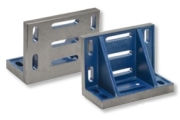 Angle Plates with clamping slots according to DIN876 and DIN 875. Accuracy Grade 0, 1 or 3.
